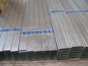 Metal Building Materials Light Steel Keel for Construction Decoration