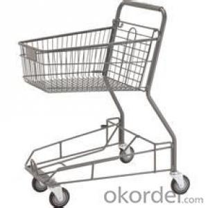 supermarket hand shopping cart