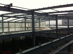 Professional design of long span steel structure