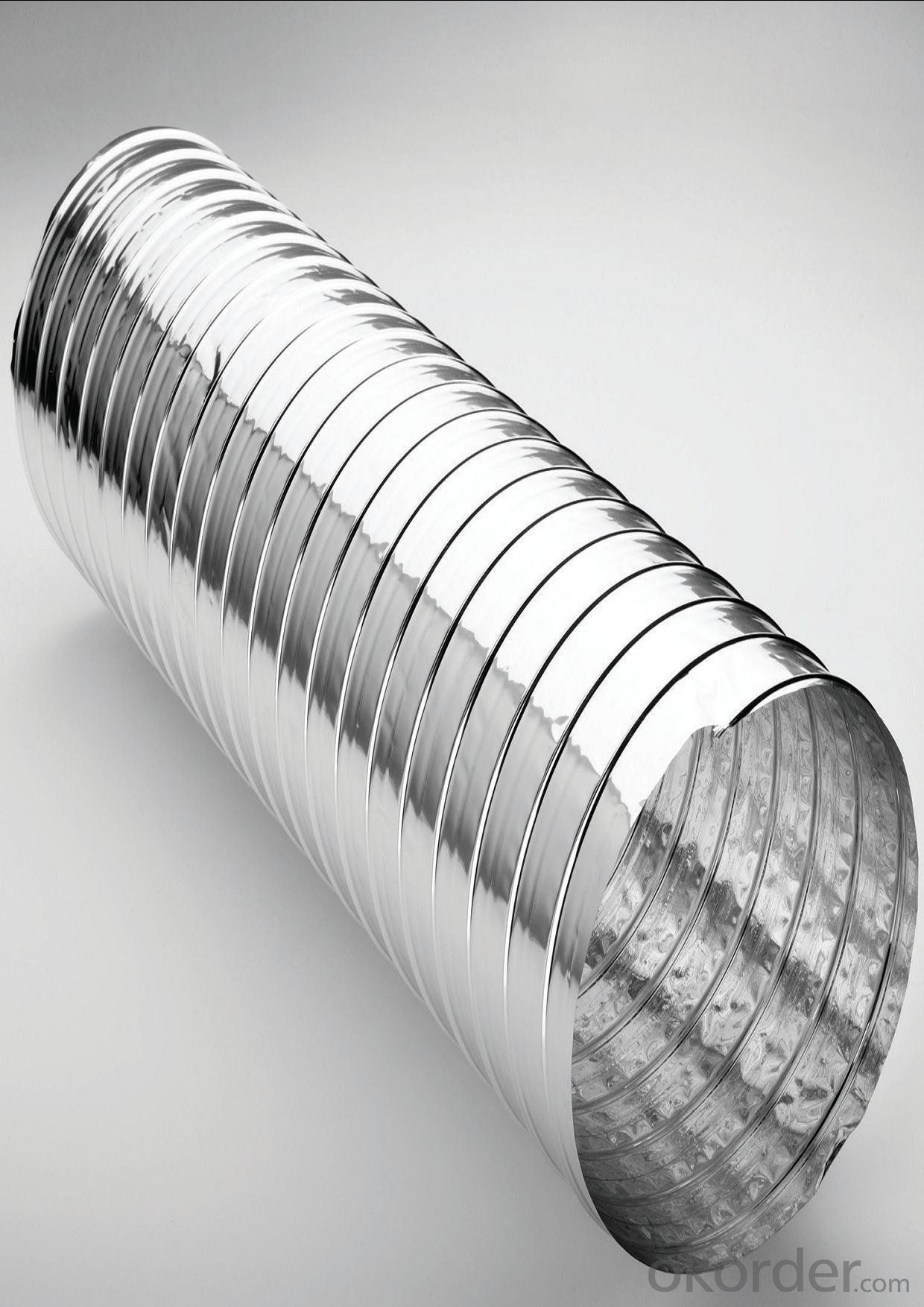 Non-ininsulated Alum. Flexible Duct Insulated Flexible Duct