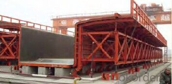 Wholely Assembled Box Girder Formwork