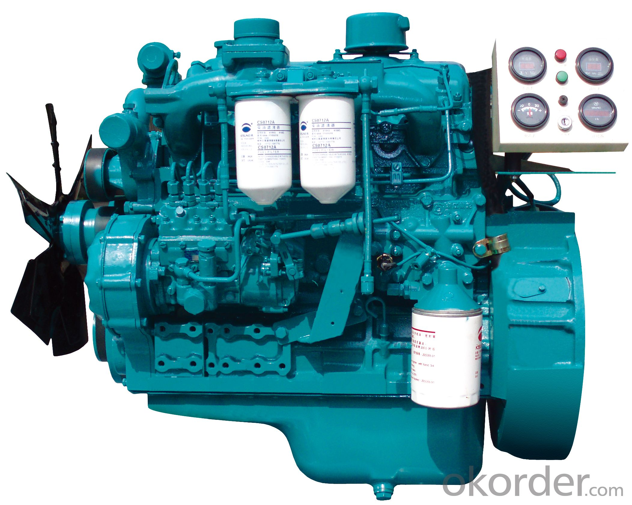 Yuchai YC4A/4D (24-64kW) Series Engines for Generators