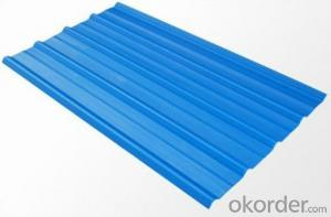 Prepainted Galvanised Corrugated Sheets