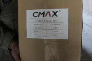 rubber plastic pipes