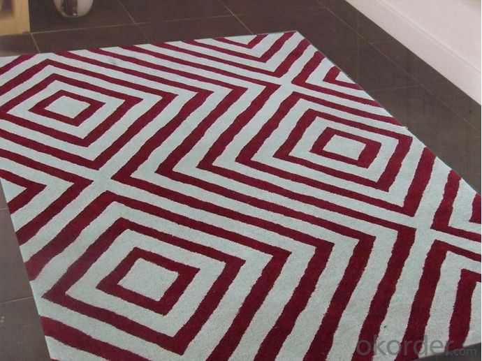 Chinese Polyester Hand Tufted Carpet