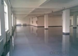 Self leveling cement floor