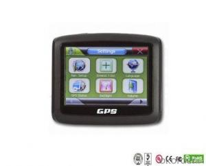 Motorcycle 3.5 Inch Portable GPS Bluetooth AV-IN Optional