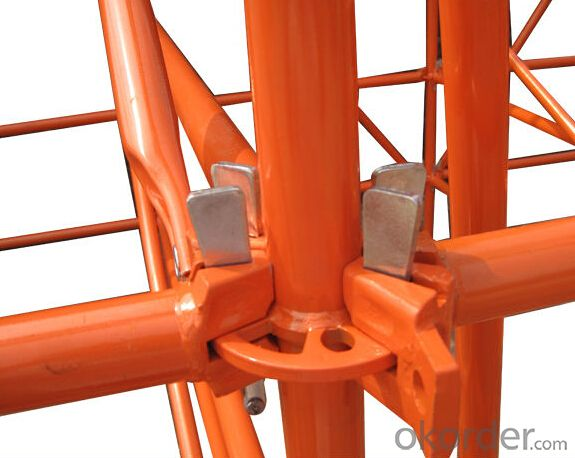 Hot dipped galvanized Ring-Lock Scaffolding System /Round scaffolding system