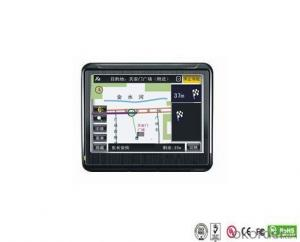 Portable Motorcycle 3.5 Inch Touch Screen GPS Navigator 64MB SDRAM 128MB NAND Flash