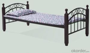 Fashion Design Single Metal Bunk Bed