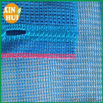 Eco-friendly plastic scaffold safety net