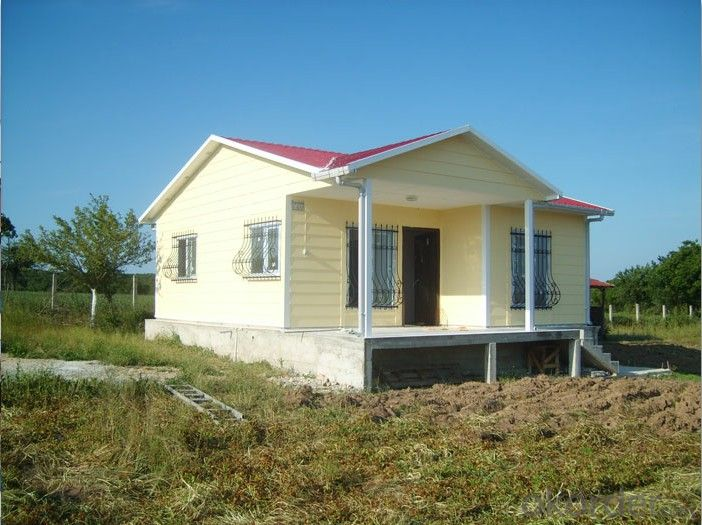 Good Quality Prefabricated Sandwich Panel House