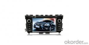 Nissan-13 TeanaSantana dvd with Origina car style