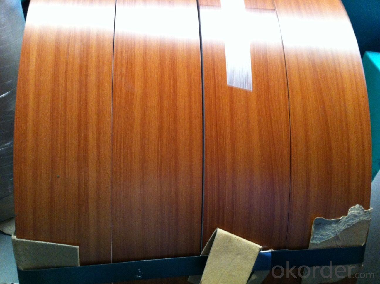 PE aluminium coil wooden rain