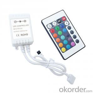 IR remote 24 key RGB Controller