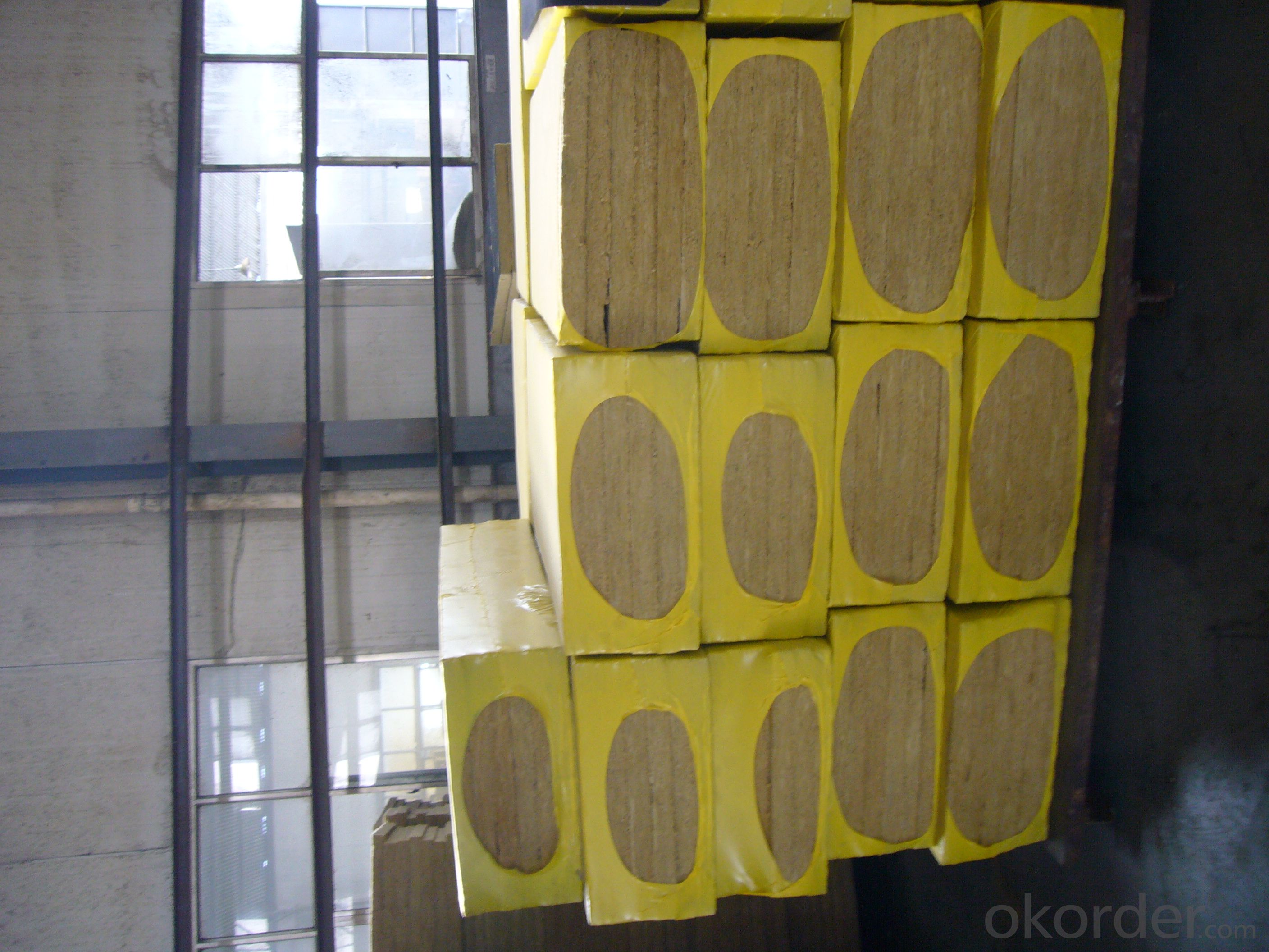 Insulation Rock Wool Board 100KG 50MM