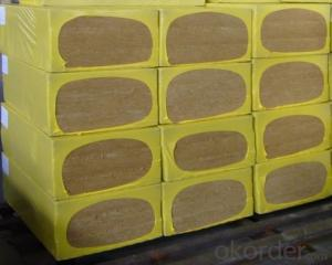 Insulation Rock Wool Board 110KG 50MM
