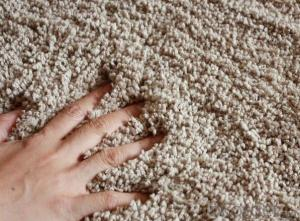 Microfiber Shaggy Carpet for Home Decoration