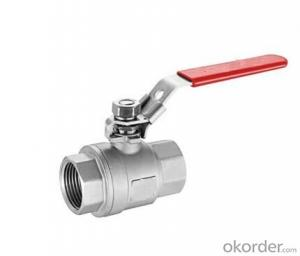 High Quality Manual Ball Valve Stainless Stee Ball Valve