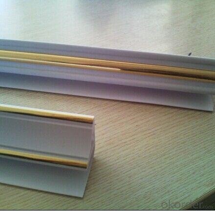 Normal printing Popular Design 20cm Width Bathroom PVC Ceiling