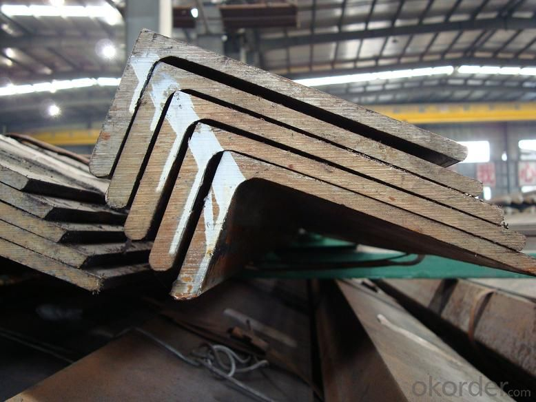 Hot rolled equilateral angle steel