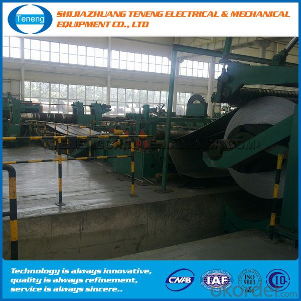 ZJ1300 x 3.0 Slitting line stainless steel cutting machine
