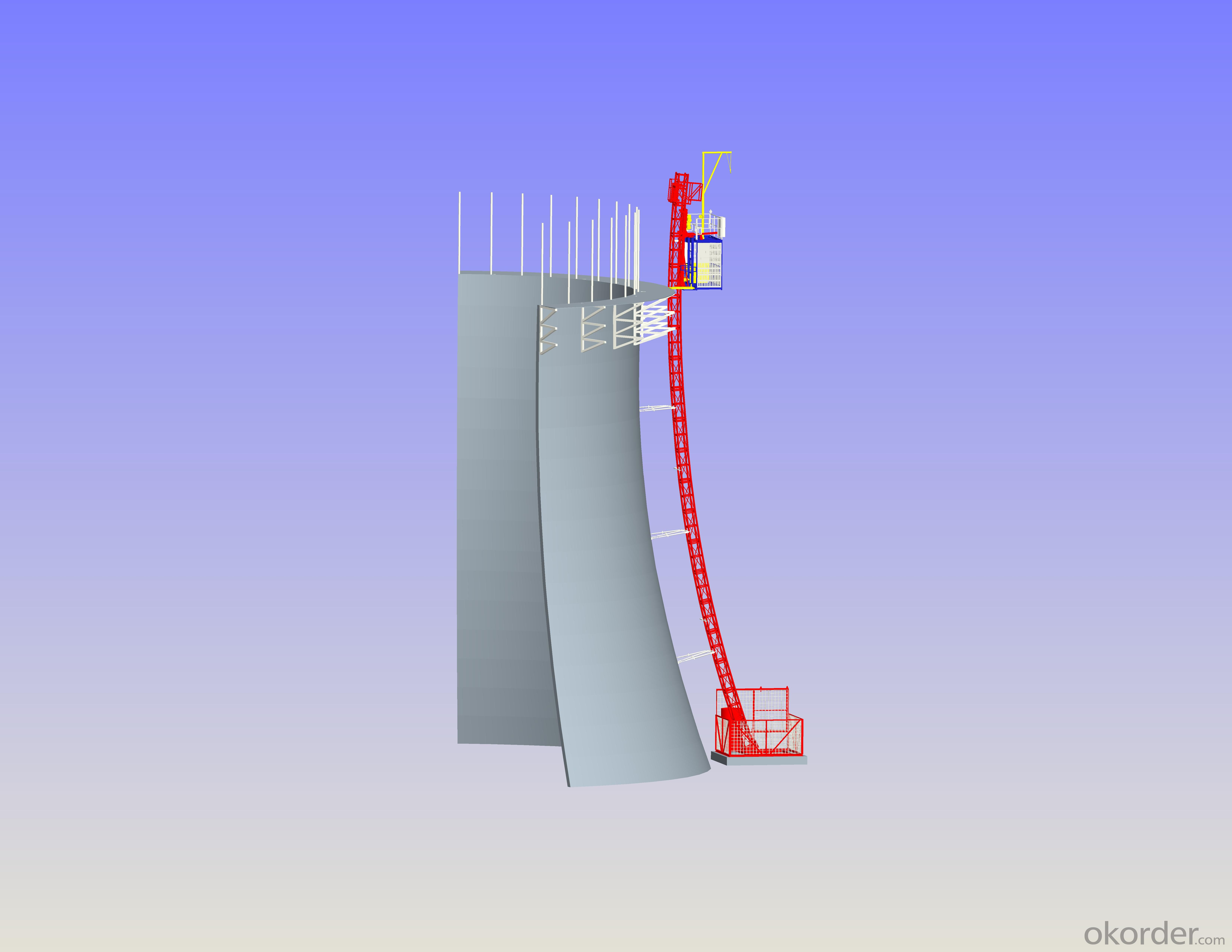 SCQ60 Curved Hoist