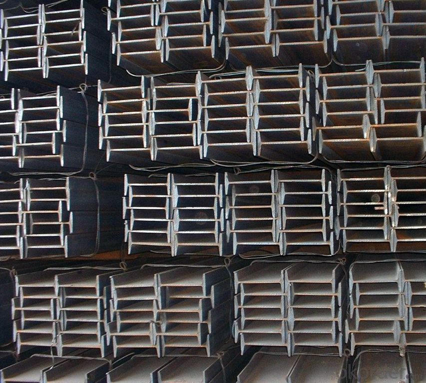 Hot rolled H-section steel