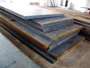 Hot-rolled steel plate