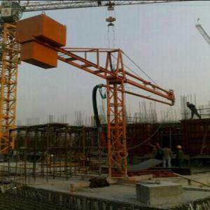 mobile 12m 15m 18m concrete placing boom