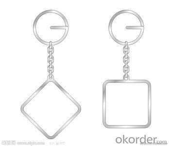 Key Chain Aluminum or zinc alloy Swivel Bolt Snap Hook