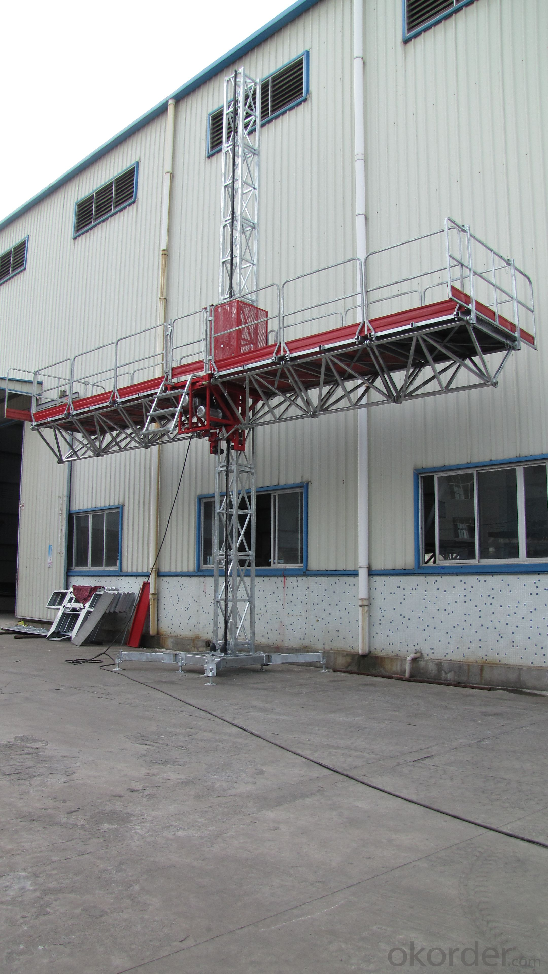 Working platform single mast - YHX YUHUAXING