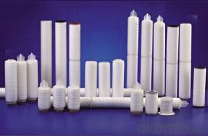 PP pleated filter cartridge for water treatment