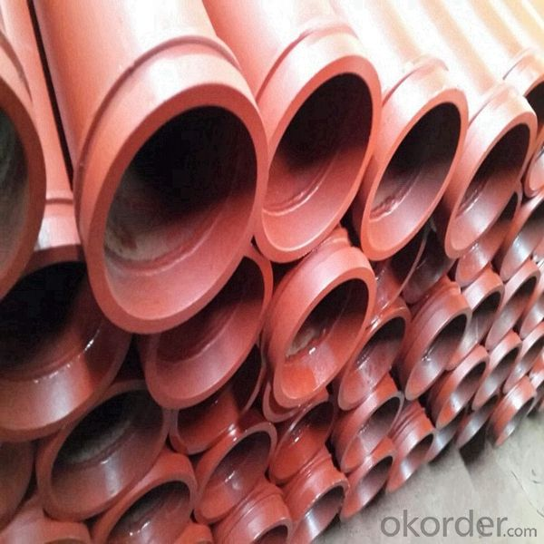 DN125 ST52 Concrete Pump Seamless Pipe