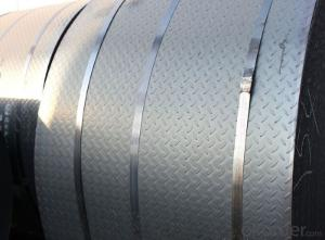 Hot rolling steel checkered plate