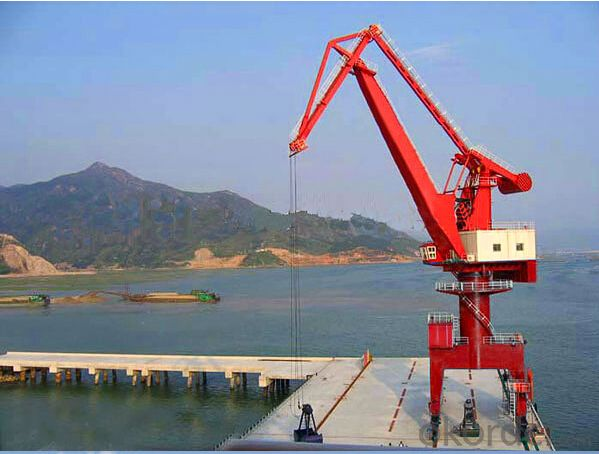 Harbor Using 60ton Port crane