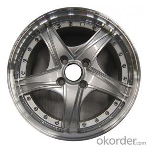 LY0681460 Passenger Car Aluminium Alloy Wheel