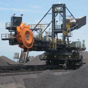 Stacker Reclaimer For Power Station Coaling Installation And Port