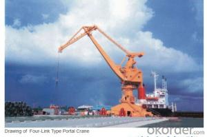 High-quality Four-link Boom Portal Crane