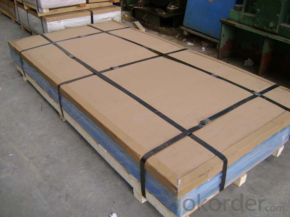 Alu trade plate 3003 H14,big,samll five bars
