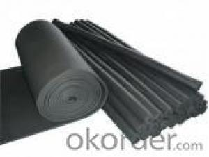 Rubber Sheet Pipe Faced with Aluminum Foil