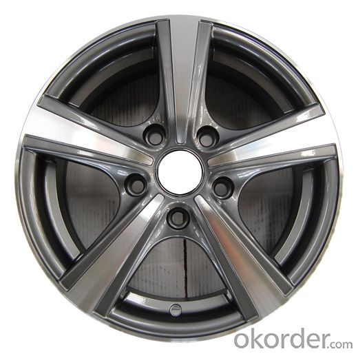 LY0191355 Passenger Car Aluminium Alloy Wheel
