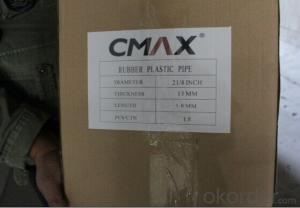 Rubber Plastic Pipe for Thermal Insulation