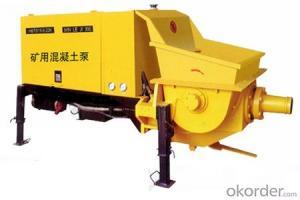 Metal Mining concrete pump HBTS15-6-22K
