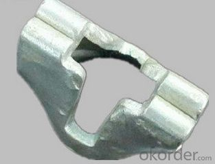 Q235 Galvanized ringlock scaffolding ledger end