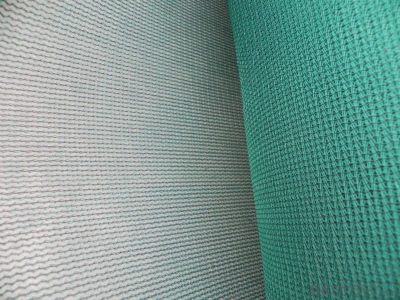 Dark green sun shade netting for Sandy beach