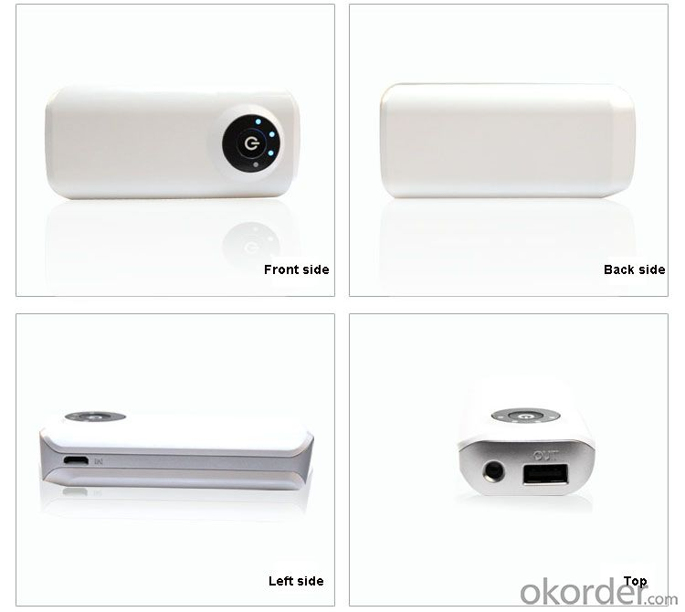 Hot Sale Power Bank 5200mAh Universal Charger From China Manufacrory