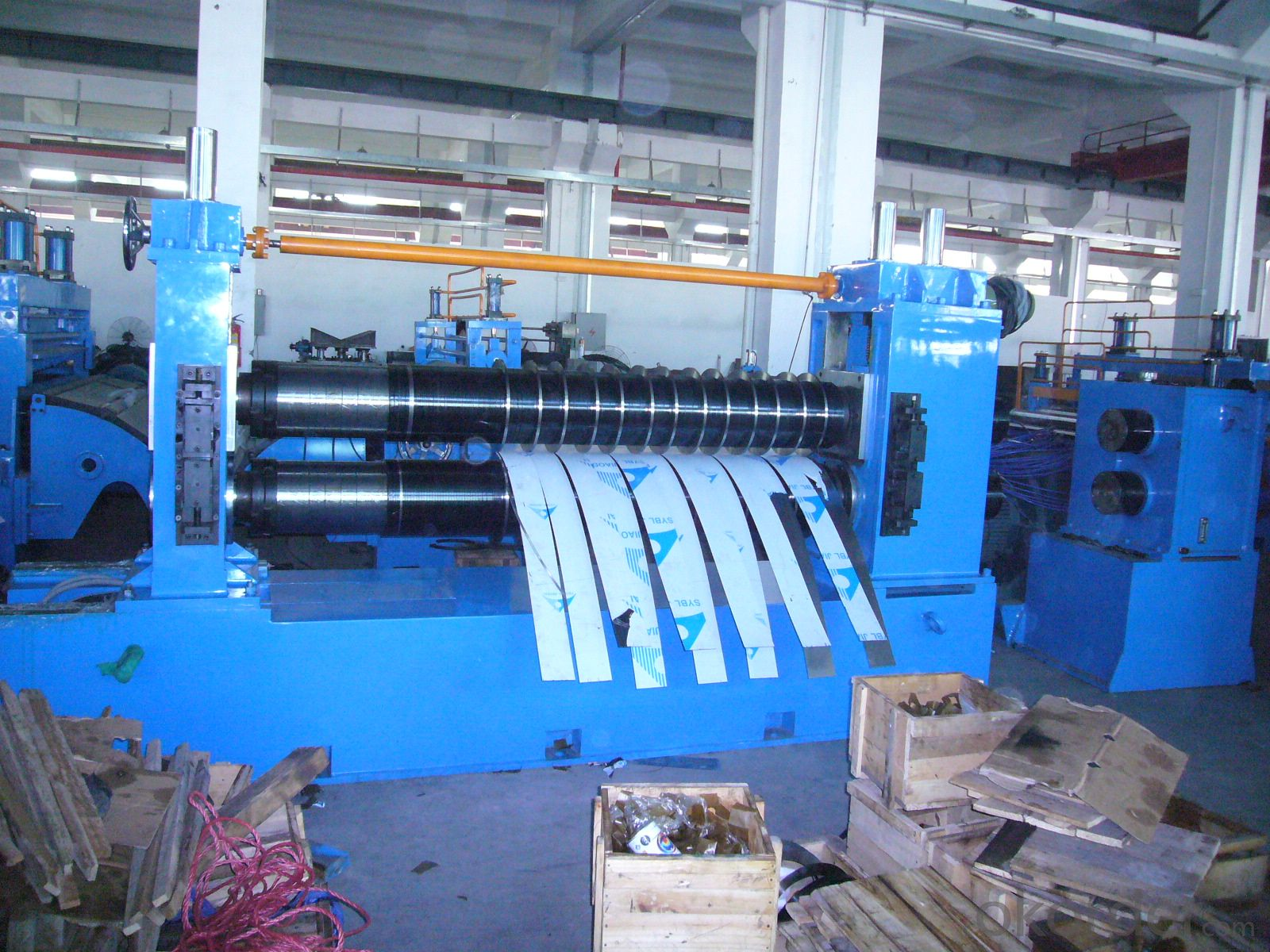ZJ1500 x 2.5 Slitting line