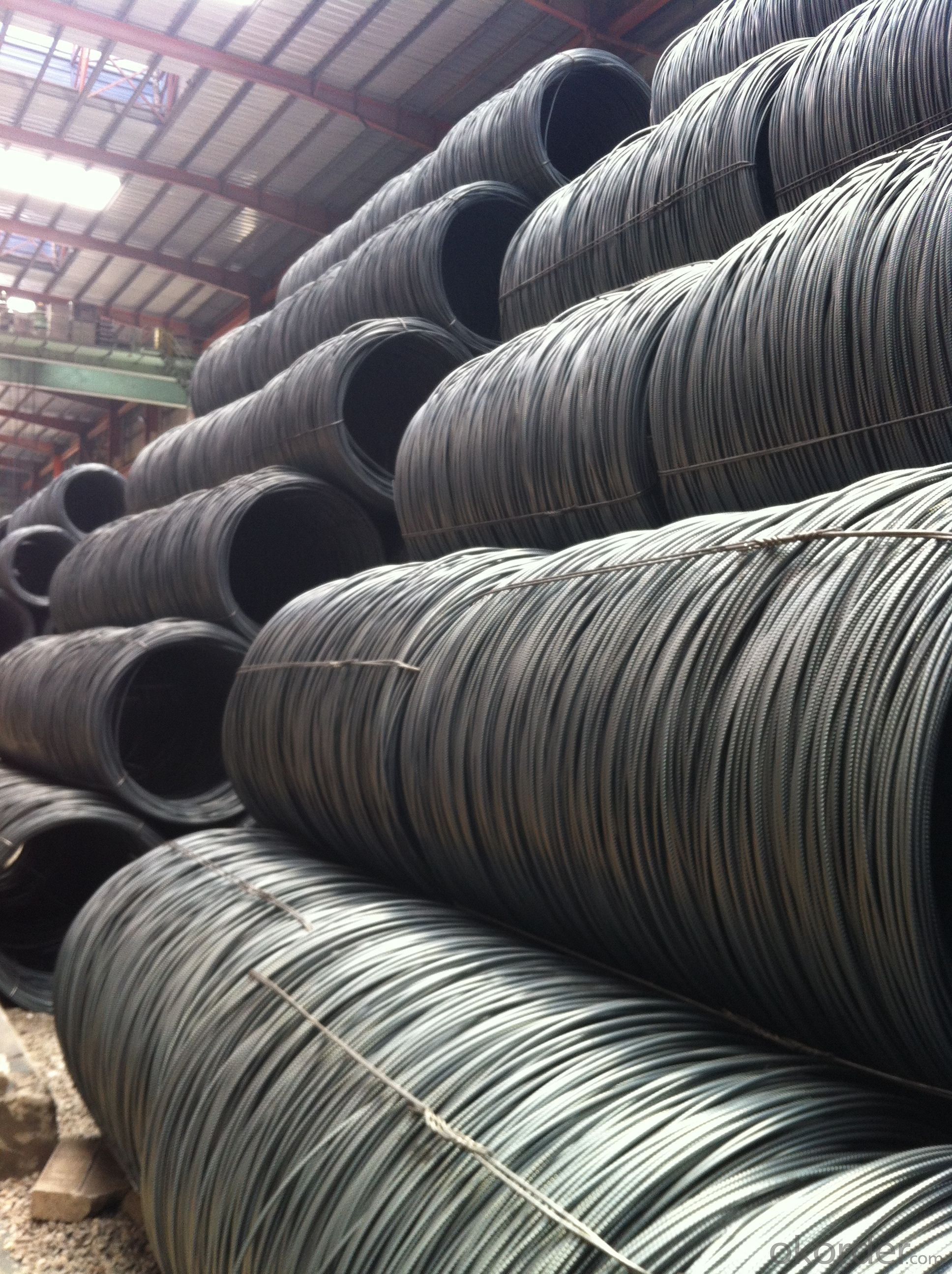 Hot Rolled Wire Rods in High Quality and Good Price