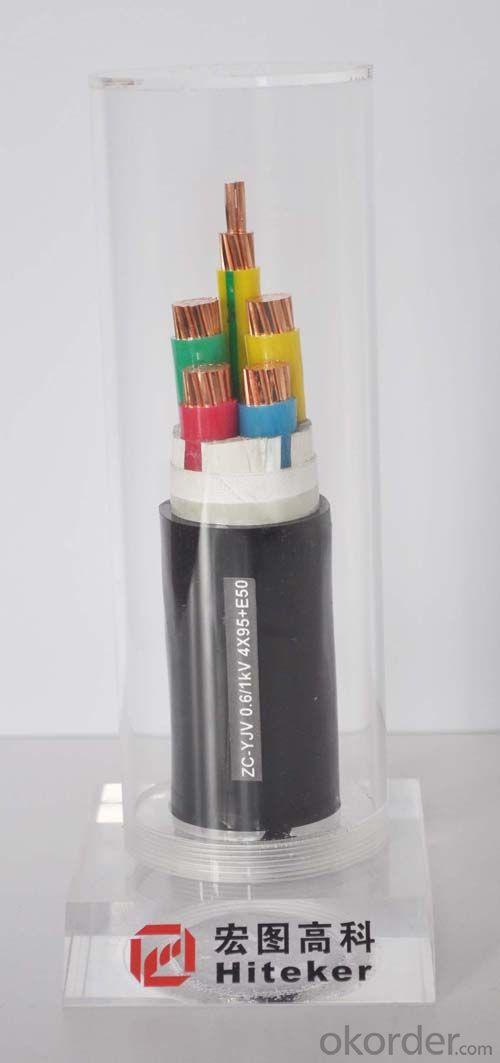 Type: YJV 0.6/1KV  XLPE Insulation PVC Sheath Power Cable